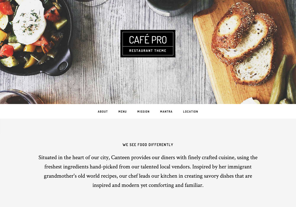 Cafe featured